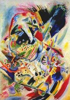 Wassily Kandinsky. Painting number 201.