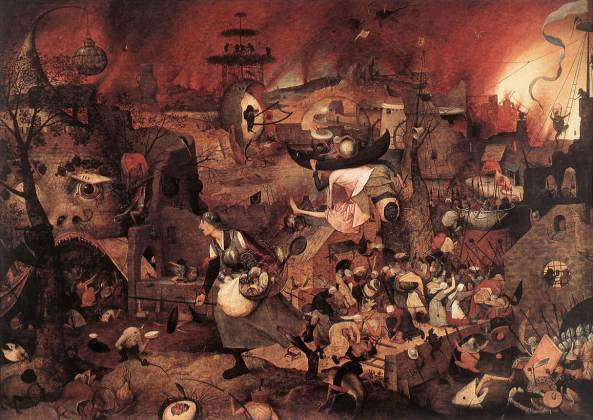 BRUEGEL, Pieter the Elder Dulle Griet (Mad Meg) c. 1562