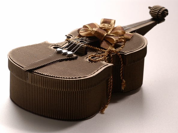 Food of Geniuses -- chocolate violin