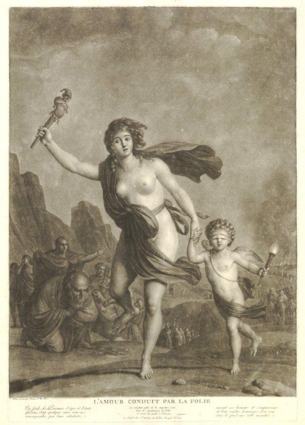 Print made by Michel Honoré Bounieu (1785)
