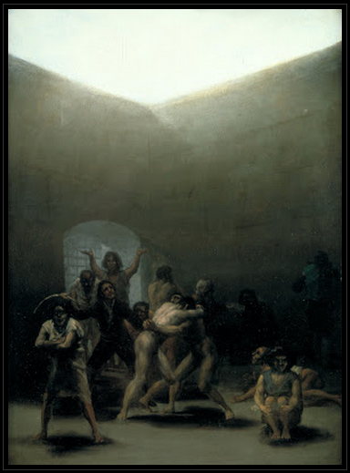 Francisco Goya  Yard with Lunatics (1794)