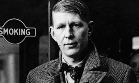 The poet as a young man… WH Auden in London in January 1938, 18 months before the recently unearthed diary was started. Photograph: Hulton Archive/Getty