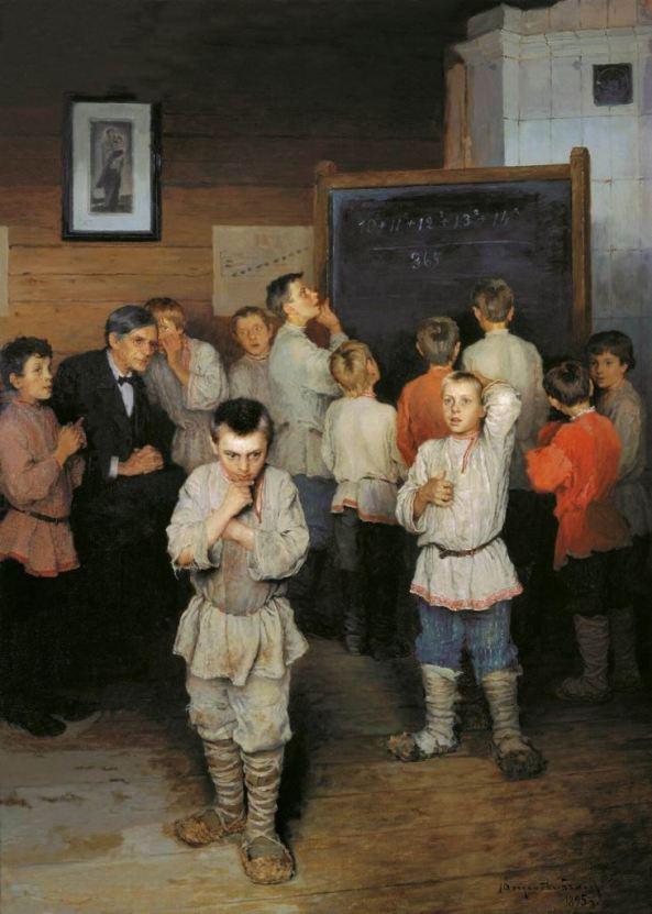 Nikolay Bogdanov-Belsky (1868–1945) Mental arithmetic