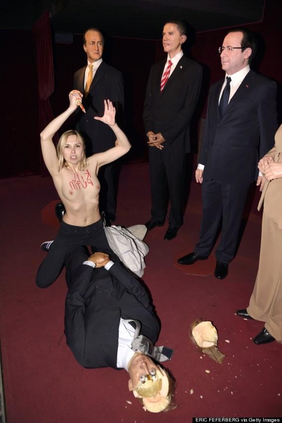 FRANCE-FEMEN-PUTIN