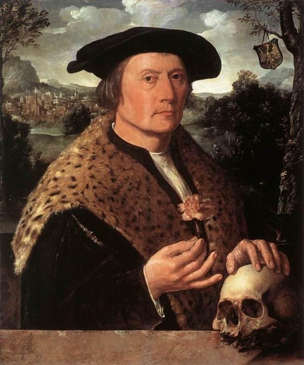 Dirck Jacobsz. (circa 1497–1567)  Portrait of Pompejus Occo (1483-1537).
