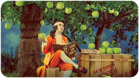 Newton's fresh apples