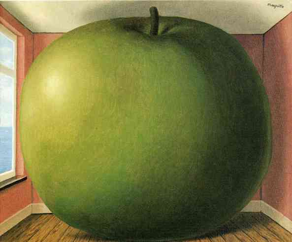 Magritte.The listening Room (1952)
