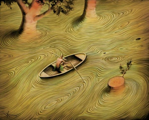 Artwork of Vladimir Kush
