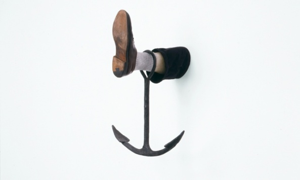Leg with Anchor, 2008 Photograph: Bill Orcutt, courtesy the artist and Matthew Marks Gallery