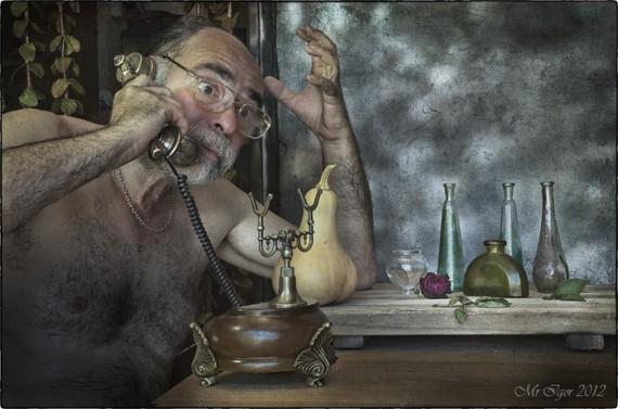 мужик с телефоном