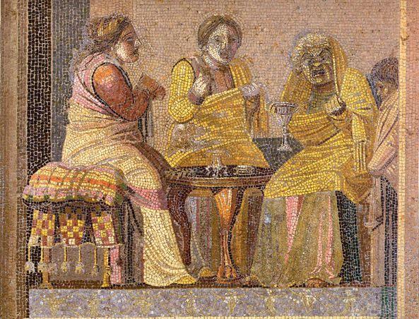 787px-Pompeii_-_Villa_del_Cicerone_-_Mosaic_-_MAN
