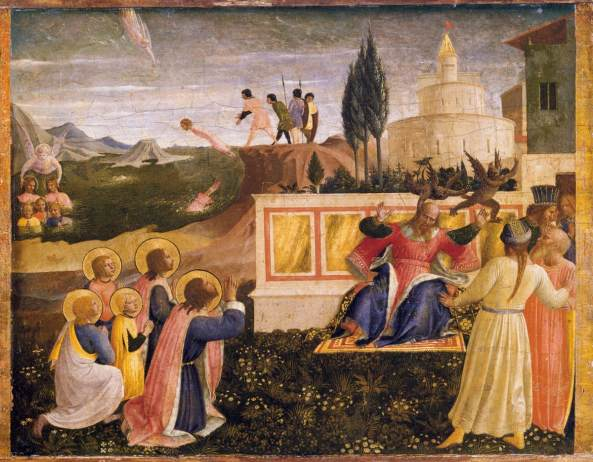 Fra_Angelico_-_Saint_Cosmas_and_Saint_Damian_Salvaged_-_WGA00513