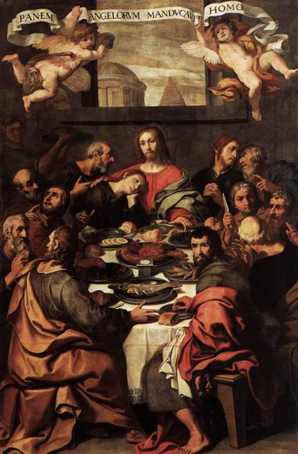 Daniele_Crespi_-_The_Last_Supper_-_1624