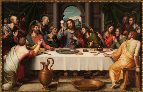 Juan de Juanes 1523 – 1579 The Last Supper (1560)