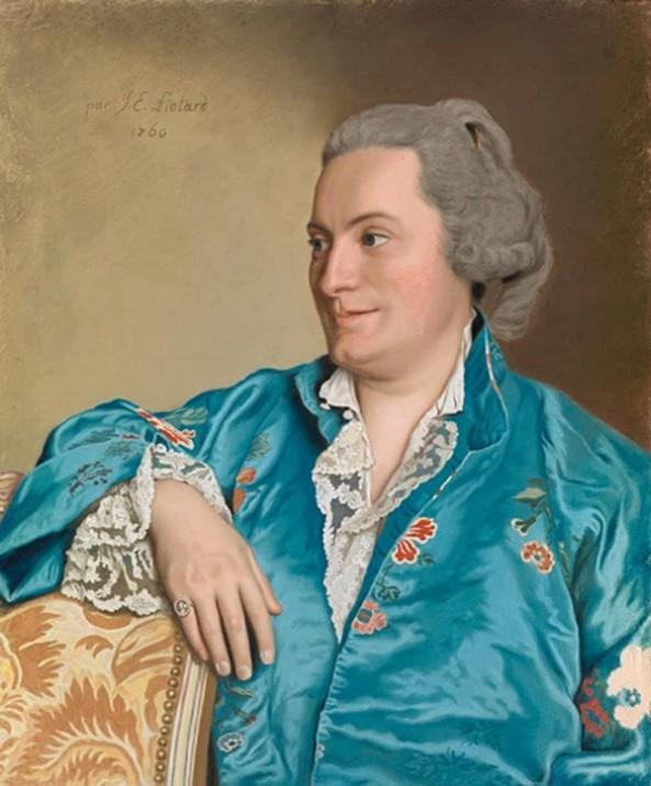 Jean-Etienne Liotard. Issac-Louis de Thellusson, 1760. Museum Oskar Reinhart, Geneva