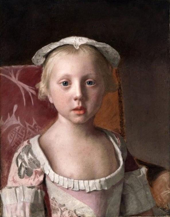 Jean-Etienne Liotard. Princess Louise-Anne. 1754