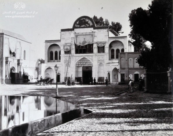 Main entrance to the Golestan Palace. Picture by Anton Sevriugin.