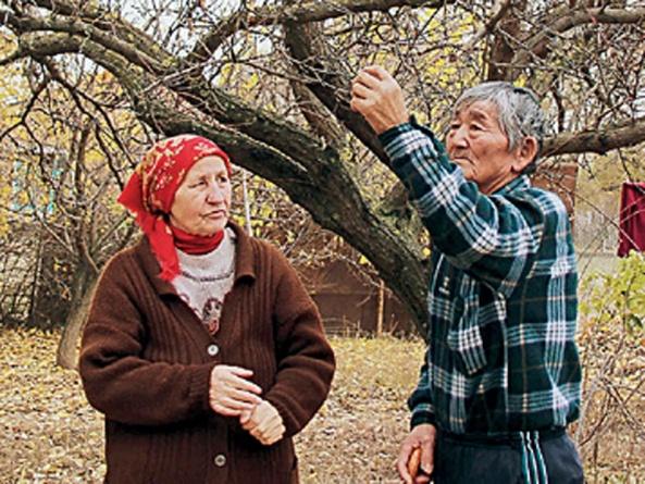 Esiteru with his wife Lyubov Zavgorodnaya