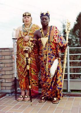 King Bansah and Queen Bansah