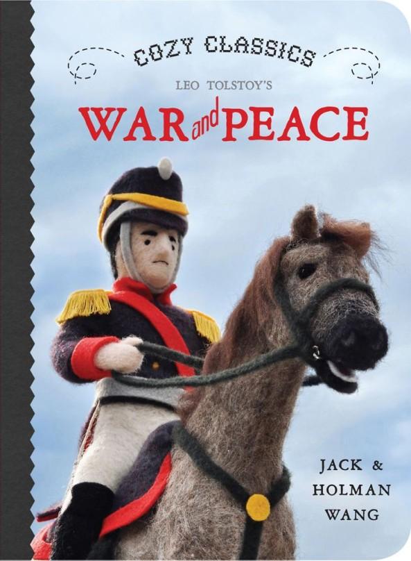 La Guerre et la Paix  de Léon Tolstoï en 12 mots pour les très très très jeunes lecteurs