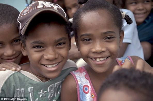 Babies born apparently female in Salinas, Dominican Republic, are turning into men at puberty due to a genetic deformity. Above, Catherine and his cousin Carla, who is currently undergoing the transition