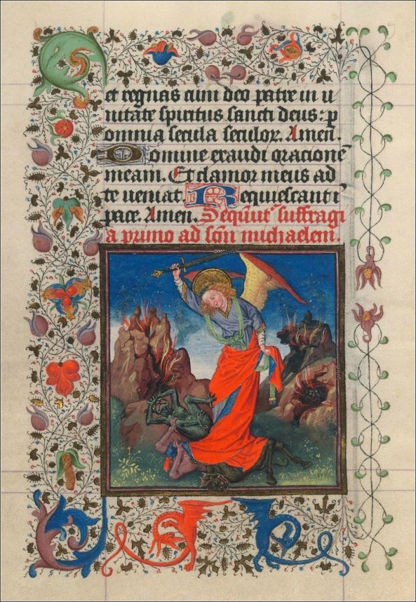 St. Michael Battling Demons