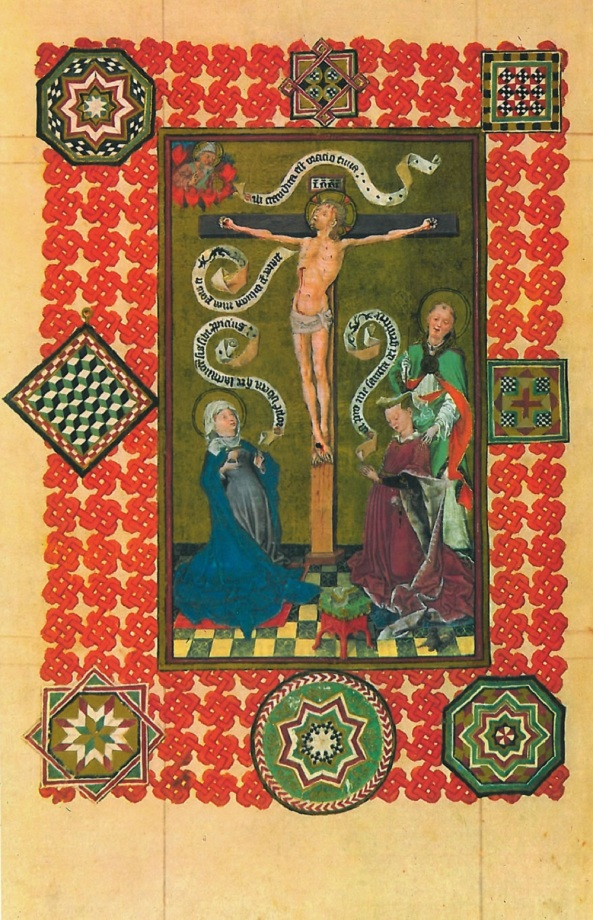 The Virgin and the Crucified Christ