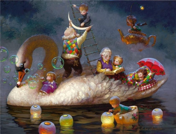 Виктор Низовцев 1965 | Russian Fantasy painter