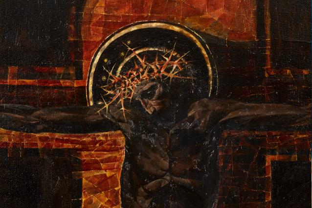 3. «Черный Христос», фрагмент. 2014-2015 гг.