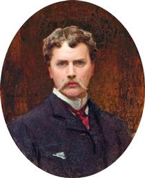 Stone self-portrait-1883